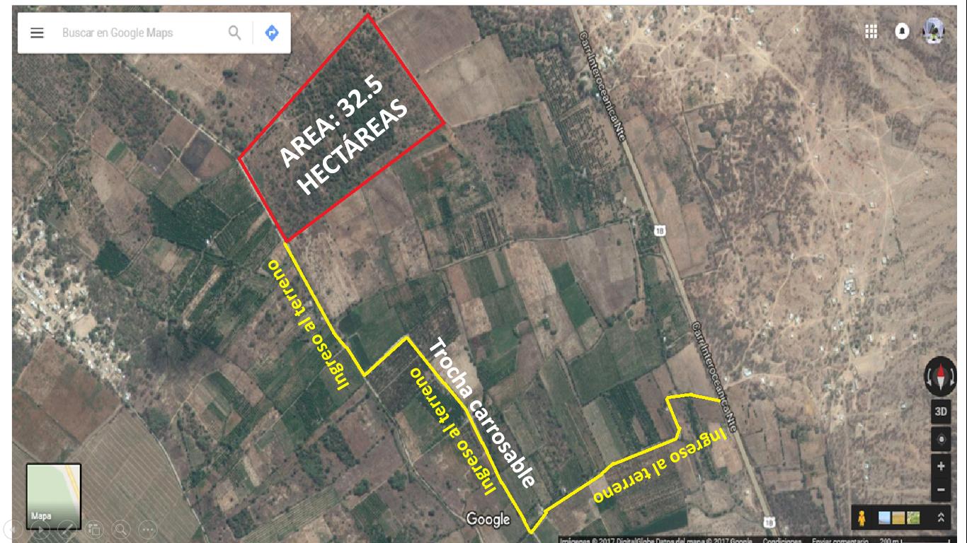 Terreno Agrícola en el Valle de OLMOS, Lambayeque