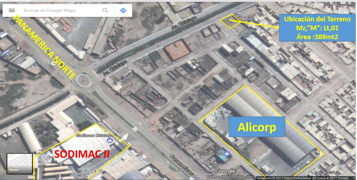 Terreno en Urbanización La Parada, Chiclayo