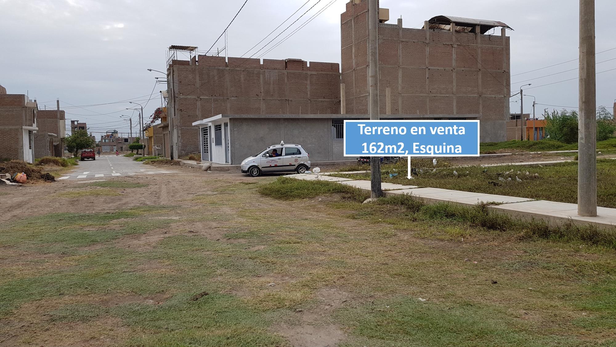 Lote de Terreno, Urbanización  Santa Rosa, La Victoria-Chiclayo